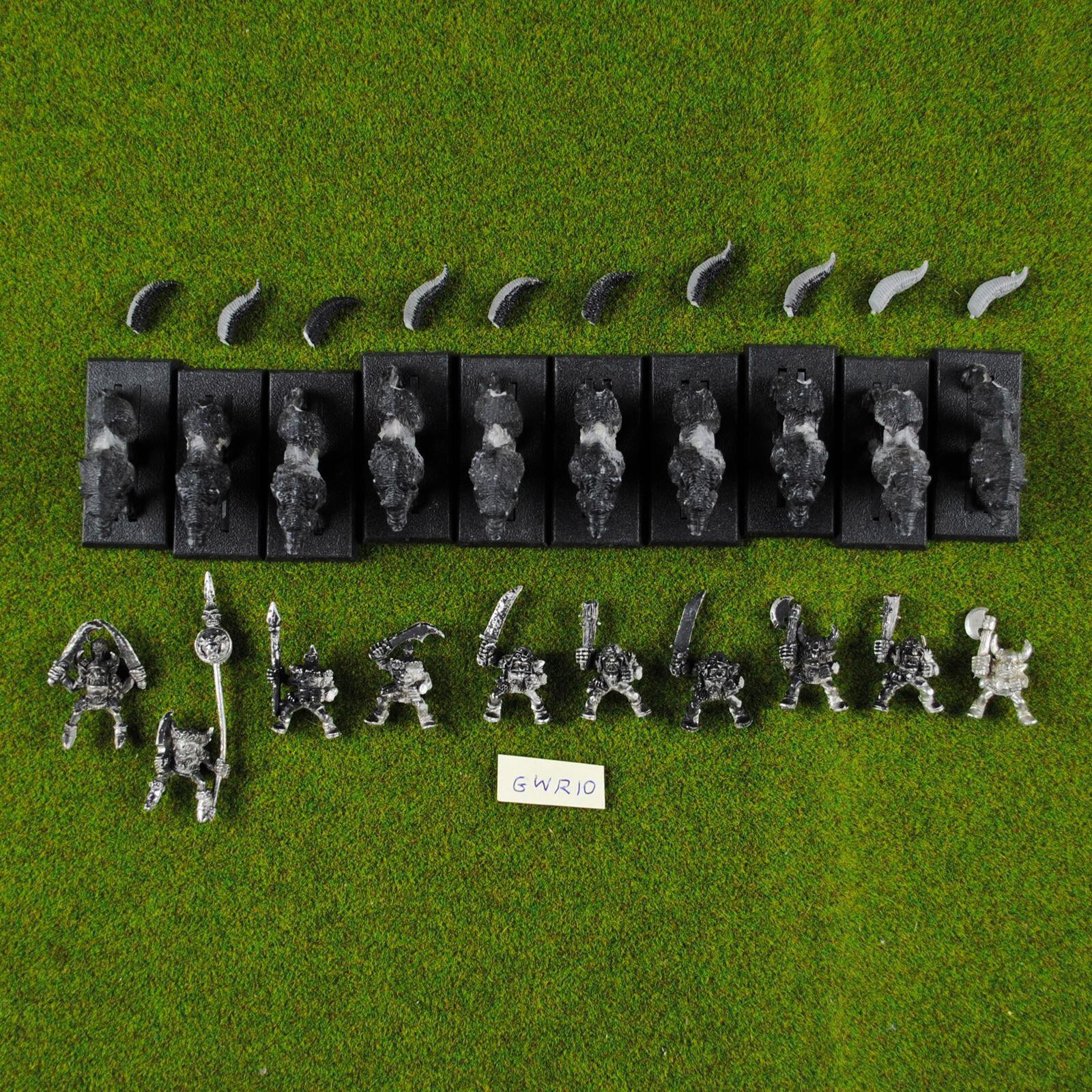 Warhammer goblin - wolf - fahrer (x10 - bitte lesen sie) metall - zitadelle kobolde reiter