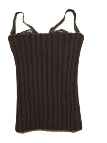Dolce & Gabbana Tube Top Sweater With Bra