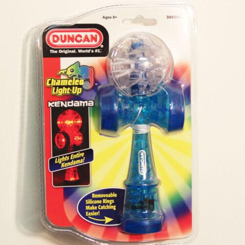 Blue and Clear Duncan Chameleo Light-Up Kendama