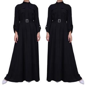 Islamic-Women-Muslim-Shirt-Dress-Abaya-Kaftan-Cocktail-Wedding-Party-Gowns-Robe