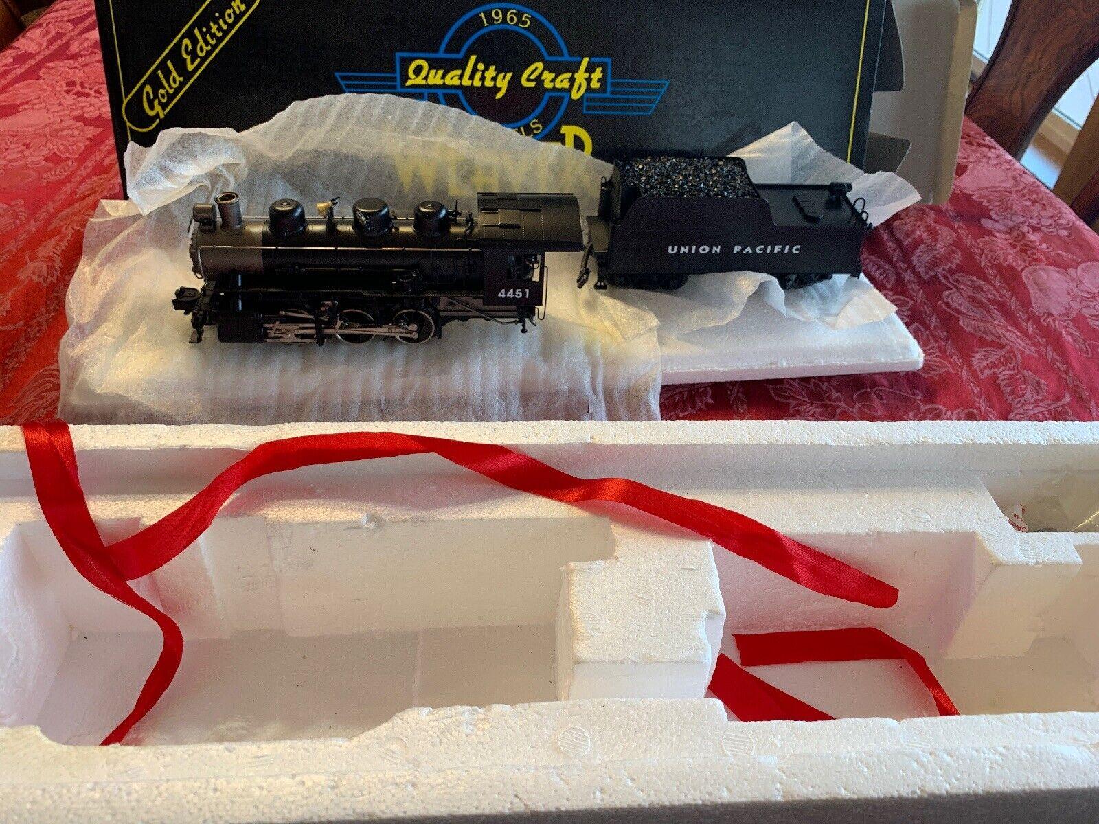 Weaver USRA 0-6-0 switcher gold Edition Models Union Pacific 3 Rails  O Brass 20