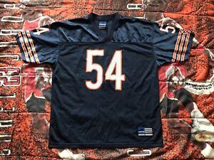 Vintage-Brian-Urlacher-54-Adidas-Chicago-Bears-NFL-Football-Jersey-Mens-XL-EUC