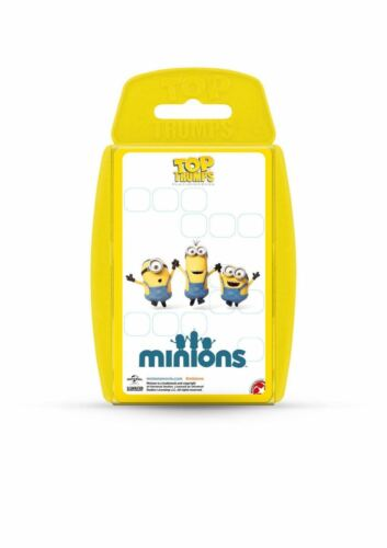 Top Trumps Minions Card Game