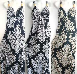 PLUS-SIZE-Women-Long-Maxi-summer-beach-party-boho-evening-party-sundress-SEXY