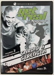 Get-Real-with-Shaun-T-Cardio-and-Strength-DVD-2-Workouts-EXCELLENT-CONDITION