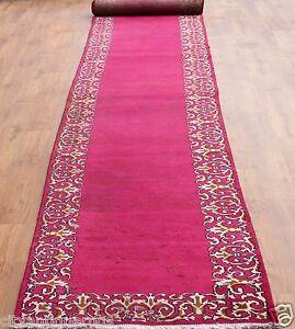 Traditional-Vintage-Wool-Handmade-Classic-Oriental-Area-Rug-Carpet-605-X-89-cm