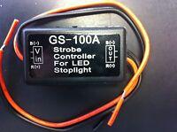 Motorcycle Trailer Brake Light Strobe Flash Control Module Gs-100a Usa Seller