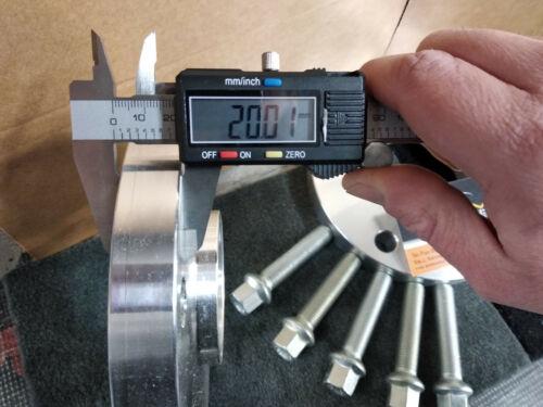 kit 4 Distanziali Ruota PORSCHE BOXSTER 986 1997 /> 2004   20mm CON BULLONI