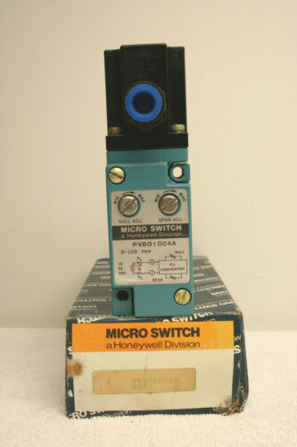 Honeywell PVB0100AA MICRO SWITCH Limit Switch NEW in Box