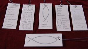 Serviettenring Holzschild Spruche Tischdeko Kommunion Konfirmation