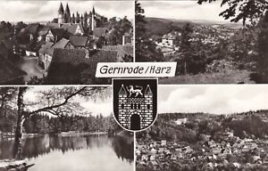 Gernrode / Harz , DDR ,Ansichtskarte, gelaufen - Schwerin, Deutschland - Gernrode / Harz , DDR ,Ansichtskarte, gelaufen - Schwerin, Deutschland