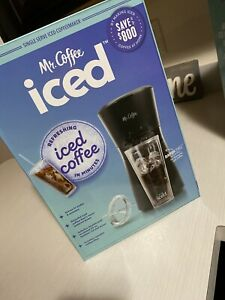 Mr. Coffee Iced Coffee Maker W/ Reusable Tumbler & Coffee ...