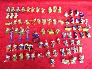 Material Ü - Huevo Figuras __ Gatos,Füchse,Ratones,Pingüinos,Osos __ 75 Pieza _