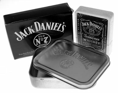 JACK DANIELS TIN AND PLAYING CARDS