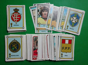 PANINI-WC-ARGENTINA-78-stickers-at-your-choice-n-205-400-removed-VG-cond-MAX