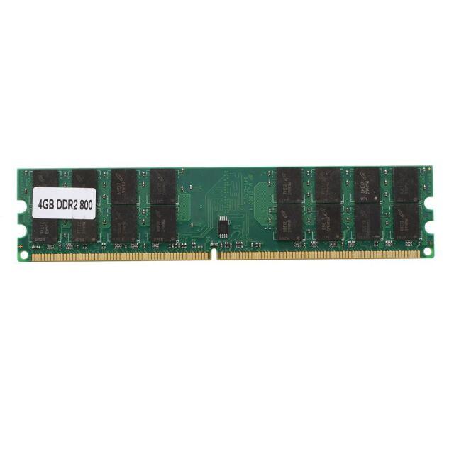 4GB 4G DDR2 800MHZ PC2-6400 Memoria de computador RAM PC DIMM 240 Pines AMD T3J7