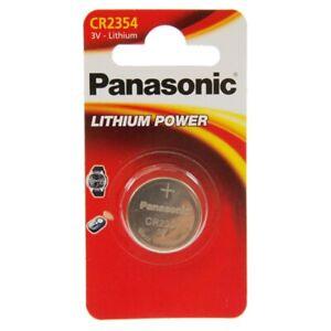 20x Panasonic CR2354 Batterie Lithium Knopfzelle 560 mAh 1 er Blister