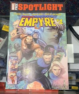 SHIPS-SAME-DAY-Empyre-1-2020-Cheung-1st-Print-Spotlight-Free-Marvel-Comics-NM