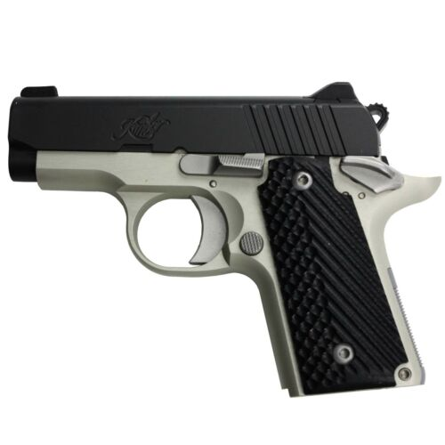 Kimber Micro Carry 380 Auto Micro 9 Slash /& Burn G10 Grips with or without Ambi