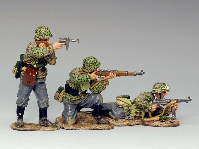 KING AND COUNTRY WSS112 WS112 WS112 'OPEN FIRE ' 1 30 SCALE GERMAN FORCES WWII