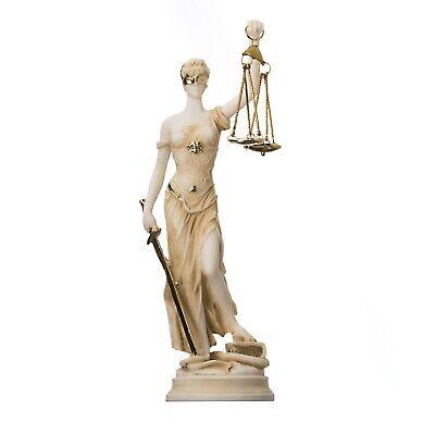 SDBRKYH Statue de Lady Justice Themis Sculpture mythologie Grecque Mod/èle caract/ère R/ésine D/écoration Art Collection Avocat Cadeau