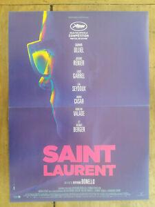 Cartel-Saint-Laurent-Bertrand-Bonello-Gaspard-Ulliel-Jeremie-Renier-40x60cm