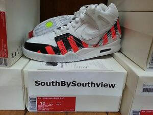 c16dbf2ea336 Details about Nike Air Tech Challenge 2 French Open With Receipt II Agassi  621358-116 DS