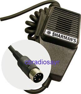 Replacement Cb Microphone 5 Pin Wiring Cobra Midland Etc Ebay