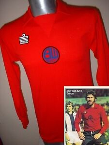 Bolton-Wanderers-Shirt-Jersey-Football-Vintage-Rare-Admiral-1975-Away-40-Adult