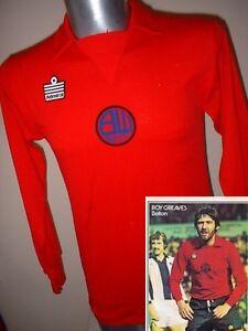 Bolton-Wanderers-Shirt-Jersey-Football-Vintage-Rare-Admiral-1975-Away-40-034-Adult