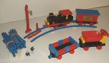 Lego 181 Vintage Train Set with Signal & 4.5v Motor & Switch 1972 Set Complete