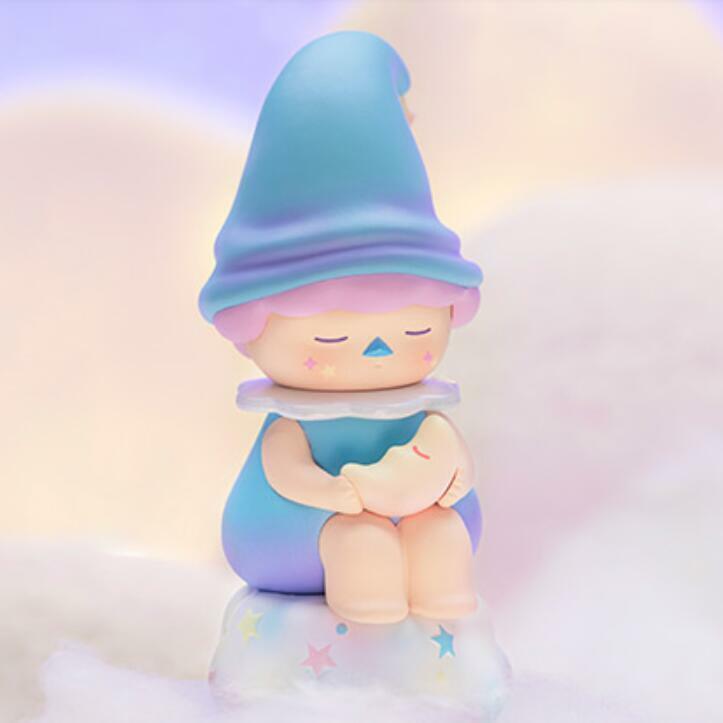 New POP MART x Pucky Sleeping Kleinkinder klein Moon Baby Mini Figure Art Spielzeug Secret