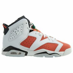 low priced 52af4 736b8 Details about Air Jordan 6 VI Retro Gatorade Big Kids 384665-145 Orange  Black Shoes Size 7