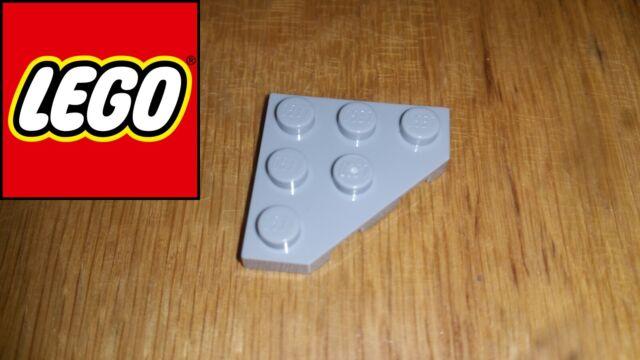 Lego Lot of 50 New Dark Orange Wedges Plates 3 x 3 Cut Corner Pieces