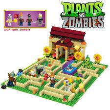 Plants vs Zombies Garden maze struck game Building Blocks Bricks Lego Compatible