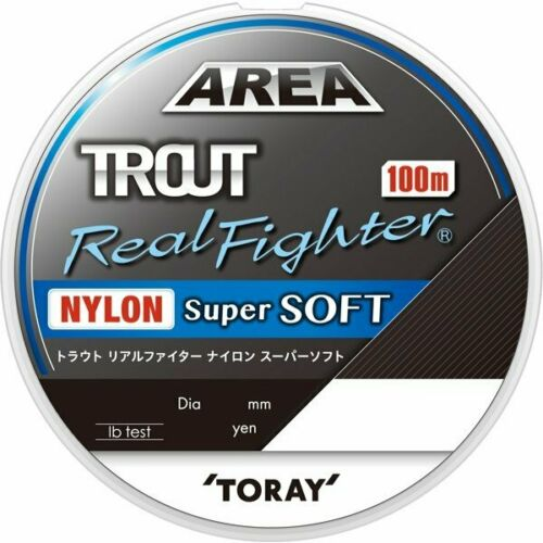 Toray Trout Real Fighter Nylon Super Soft 100m 3.5lb