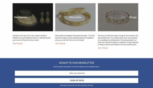 JEWELRY PRODUCTS Website Business Make $1,442.24 A Sale INSTANT TRAFFIC SYSTEM