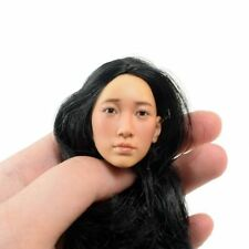 "KUMIK 1//6 Black Hair Female Head Sculpt Model KUMIK18-31 F 12/"" Action Figure"