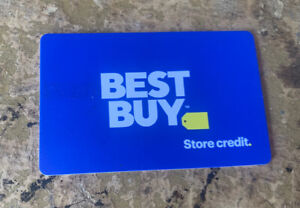 Best Buy Gift Card Merchandise Credit BALANCE $49.99