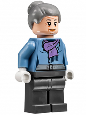 Brillant Lego Super Helden Minifigur - Tante Kann (76057) Neu / Neu - Lego Original Attraktive Mode