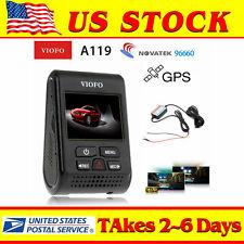 VIOFO A119 V2 Capacitor Novatek 96660 HD 1080p 2K Car Dash Crash Camera with GPS