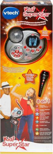 Vtech Kidi Superstar 8 en 1  fonction karaoké Magic voice boule disco jeux