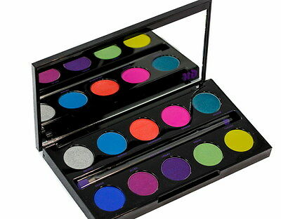 Urban Decay Electric pressed pigment palette New in box full size 0.04 oz X 10