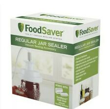 New//Never Opened  FoodSaver Regular Mouth Mason Jar Sealer Ships Fast Free!
