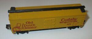 """Minitrix 51 3183 00 Wood-Reefer Refrigerator Car gelb """"Old Dutch Cleanser"""" > RAR"""
