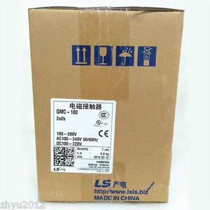 1PC New LS Contactor GMC-180 220VAC