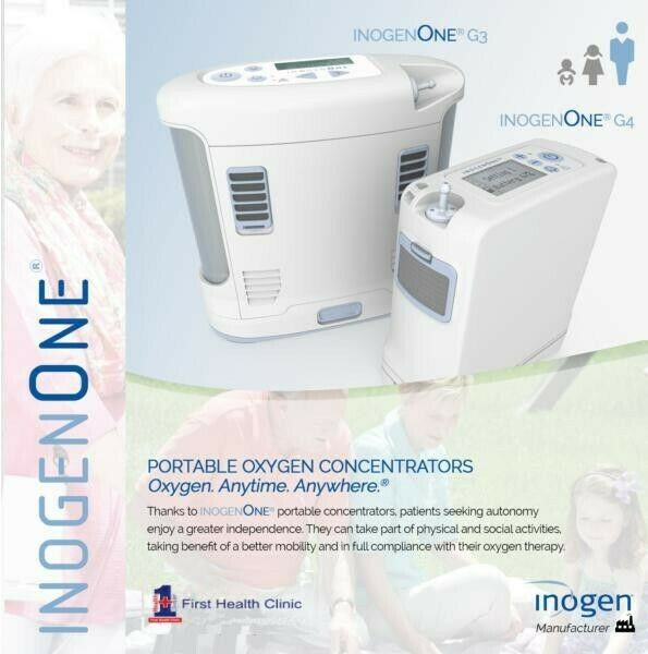 Inogen One G4 -portable oxygen concentrator