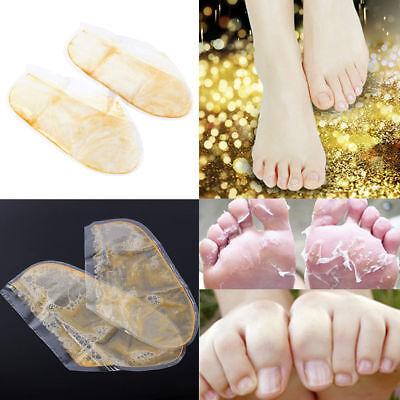 Exfoliating Peel Foot Mask Baby Soft Feet Remove Callus Hard Dead Skin 2PCS/Bag