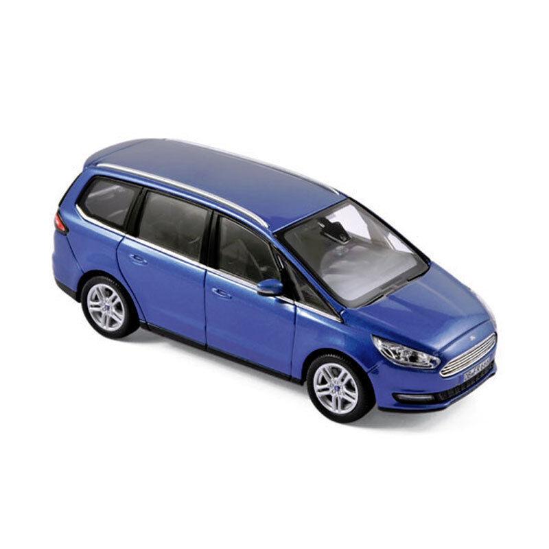 NOREV 270539 Ford Galaxy Bleu métallisé 2015 voiture miniature échelle 1 43 nouveau  °