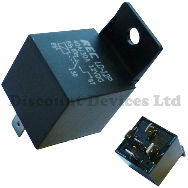 Waterproof Automotive Relay 12V 5Pin 40A Car Relay 12V 5Pin With Relay SockBIUS